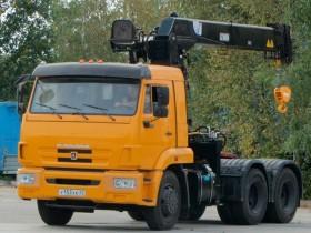 Бортовой КАМАЗ 65116 с КМУ