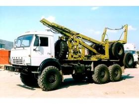 Лесовоз КАМАЗ 65115
