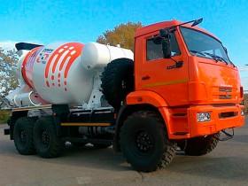 Автобетоносмеситель КАМАЗ 43118