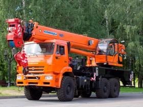 Автокран КАМАЗ 65222