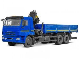 Бортовой КАМАЗ 65115 с КМУ