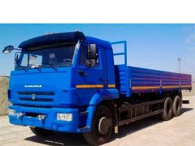 Бортовой КАМАЗ 65117