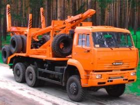 Лесовоз КАМАЗ 6522