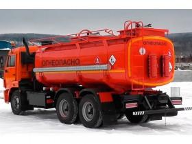 Топливозаправщик КАМАЗ 6520