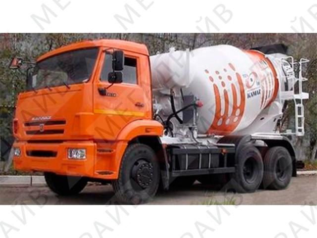 Автобетоносмеситель КАМАЗ 6540