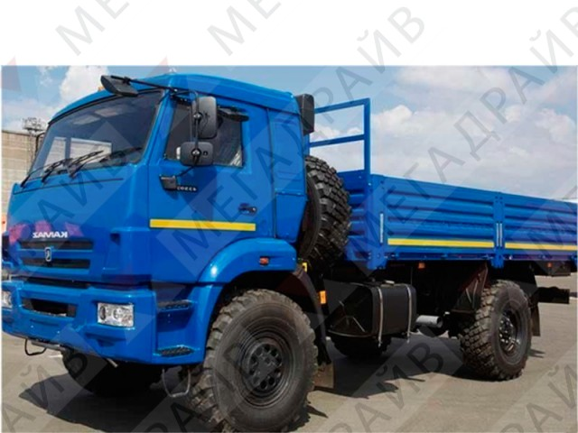 Бортовой КАМАЗ 43502